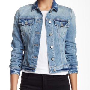 Paige Vermont Denim Distressed Jacket XS